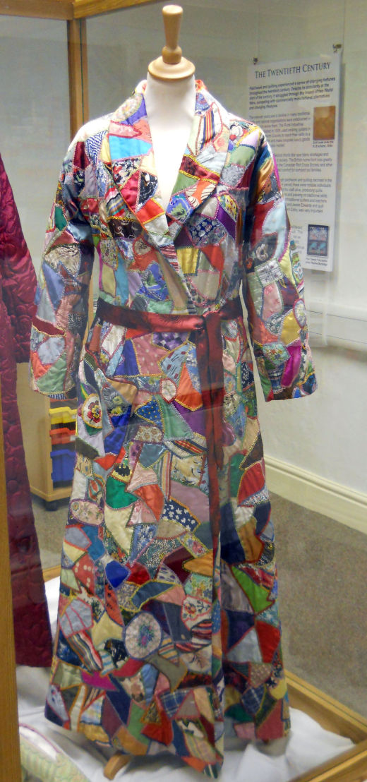 Crazy Patchwork Dressing Gown