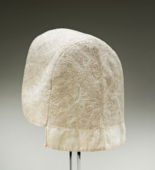18th Century Corded Baby's Cap