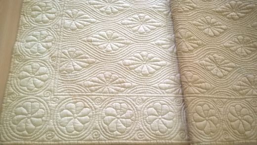Muriel Rose Gallery Wholecloth Cot Quilt