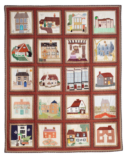 House Blocks Quilt, 1979