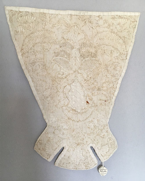 Corded Quilted Stomacher