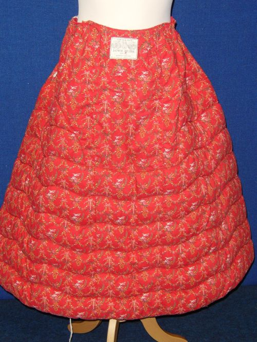 Booth and Fox Turkey Red Petticoat