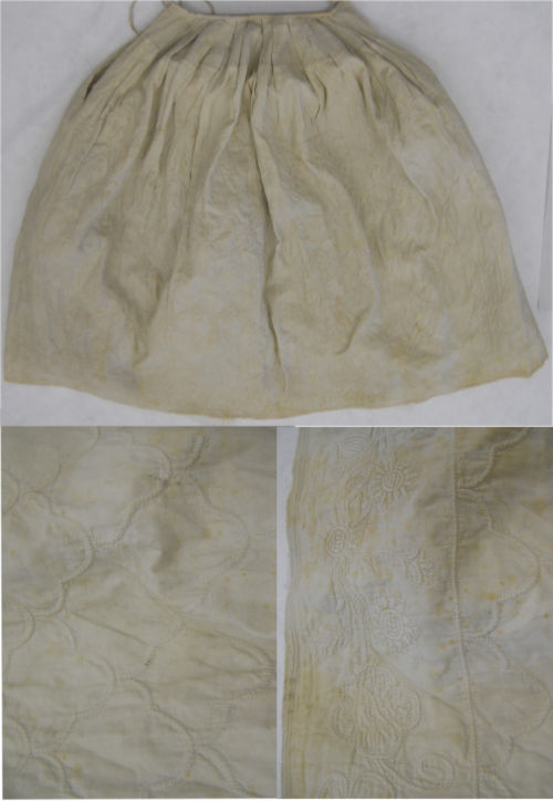 Corded Quilted Petticoat