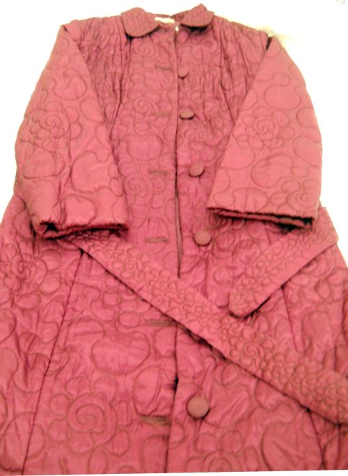 'Cosy' Quilted Dressing Gown