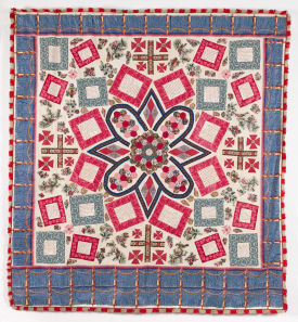 October Quilt of the Month - Bloomfield and Wyatt Coverlets