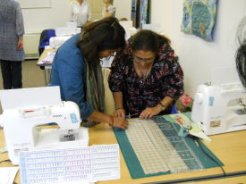 Beginners'  Patchwork Basics - a great new learning offer from the Quilters' Guild
