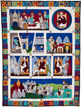 The Magna Carta Quilts - on Display 11th - 15th March