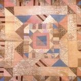 Half Triangles Frame Quilt